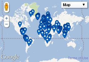 Cliccando vedrai tutti i nostri articoli geolocalizzati sulla Mappa
